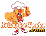 Hot Dog Cart Vendor